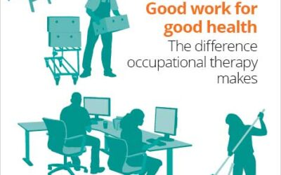 Occupational Therapists can help reduce the fitness to work burden